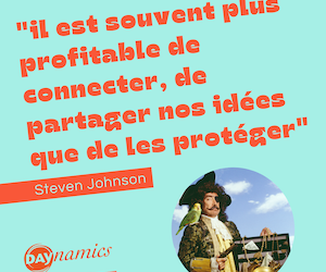 """""""Il est souvent plus profitable de connecter nos idées"""""""
